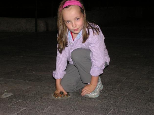 Marysia- 6-letni pielgrzym